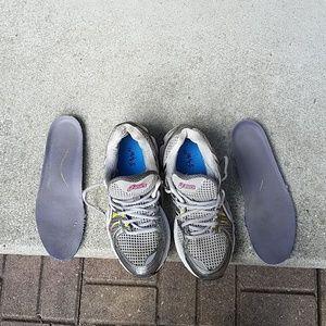 Asics Gel-Nimbus 13 solyte 45 gray running shoes